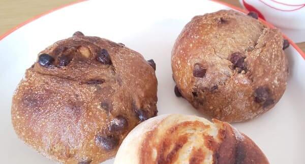 エスプレッソとオーガニックチョコのパン