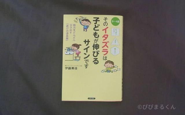本『そのイタズラは子どもが伸びるサインです』伊藤美佳著